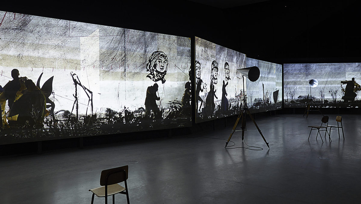 William kentridge if we ever get to heaven 31535535253 o