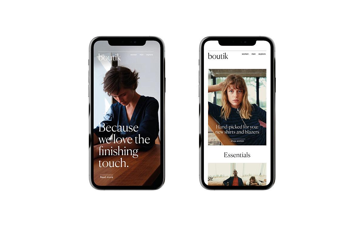 Boutik iphone verzameling